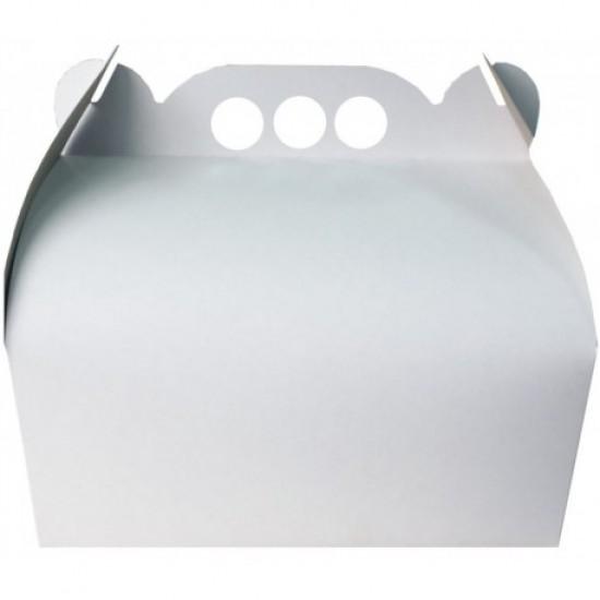 Cutie tort 25 x 36 albe (25 buc/set)
