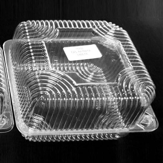 Caserole transparente patrate 1400ml