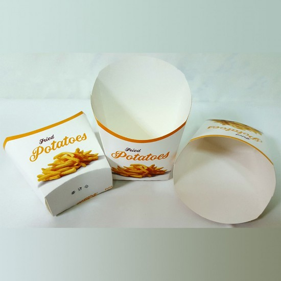 Cutie carton cartofi mica - 100buc/pachet