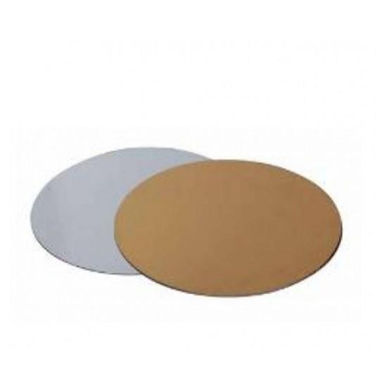 Disc tort auriu/argintiu ø28cm fara rim