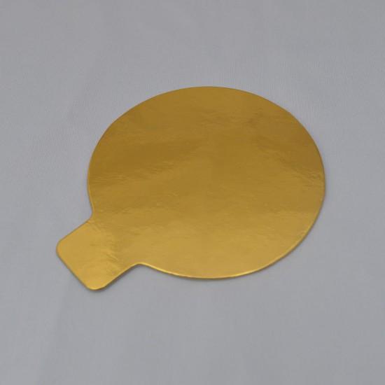 Discuri auriu/argintiu ø8cm