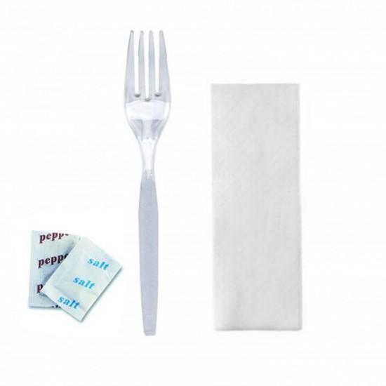 Furculita transparenta + Servetel SP