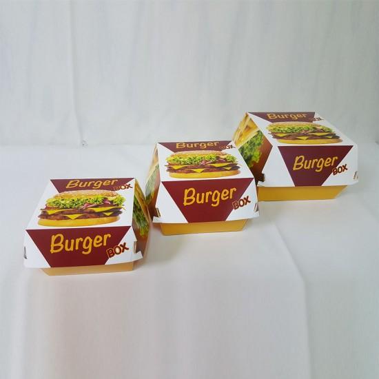 Hamburger box mare  - 150buc/pachet