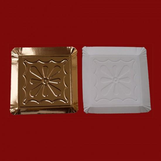 Tavite carton tip 11 aurii 25x25cm