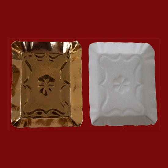 Tavite carton tip 4 aurii 13.5x16.5cm