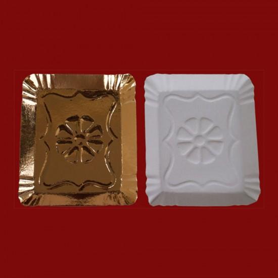 Tavite carton tip 6 aurii 15.5x19cm